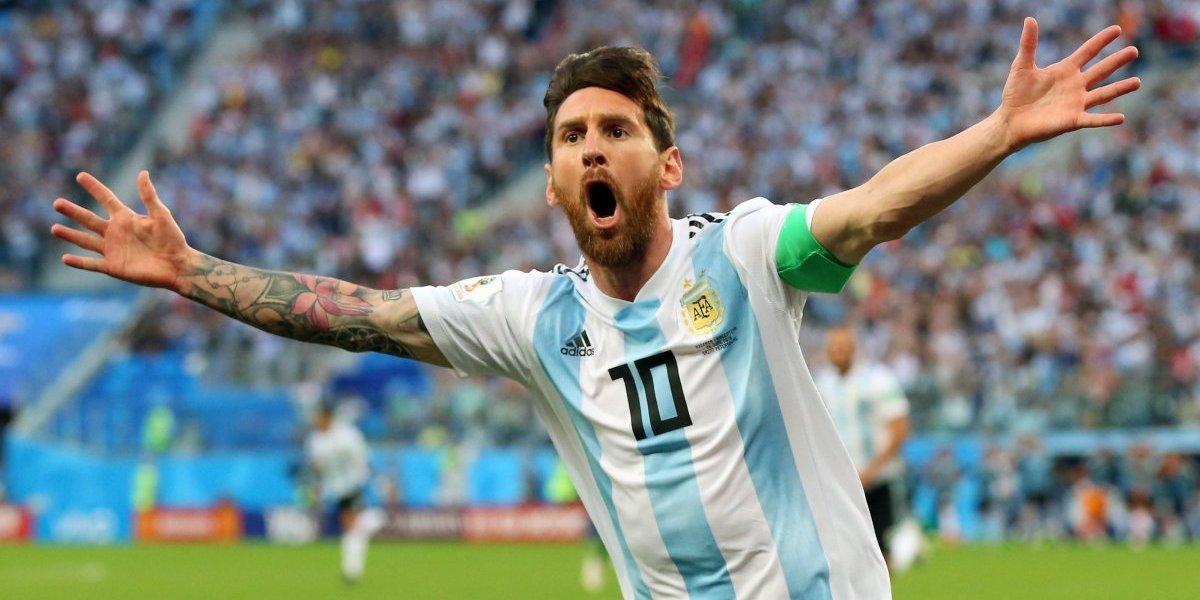 'Dios está con nosotros': Lionel Messi