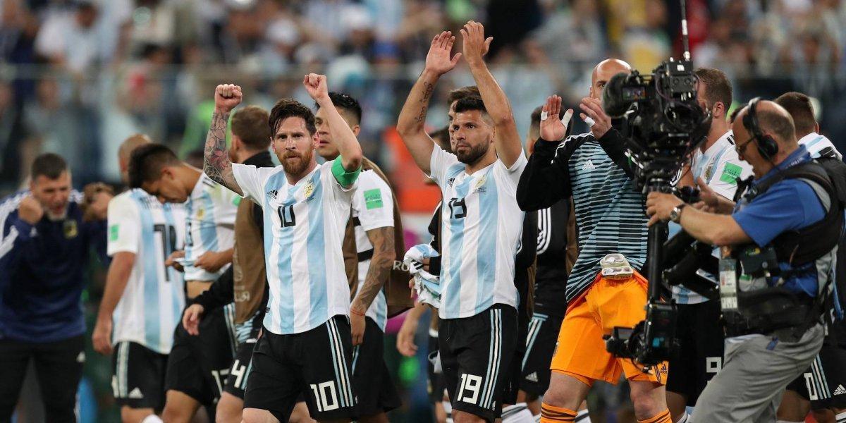 Argentina sufre ante Nigeria, pero pasa a octavos de final en Rusia 2018