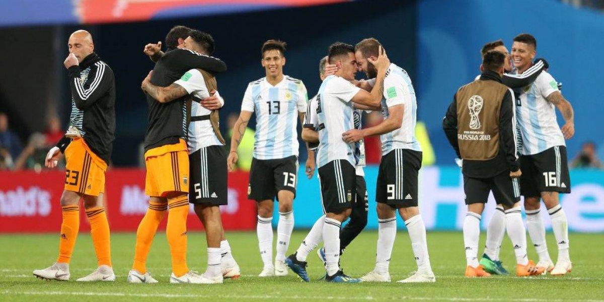 La prensa argentina gozó con la sufrida clasificación a octavos de Rusia 2018
