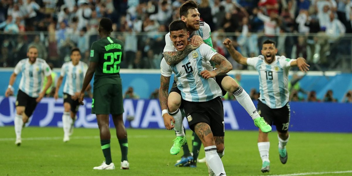 Cosas que pasan en vivo: el grito del gol de Argentina revolucionó a un noticiero trasandino