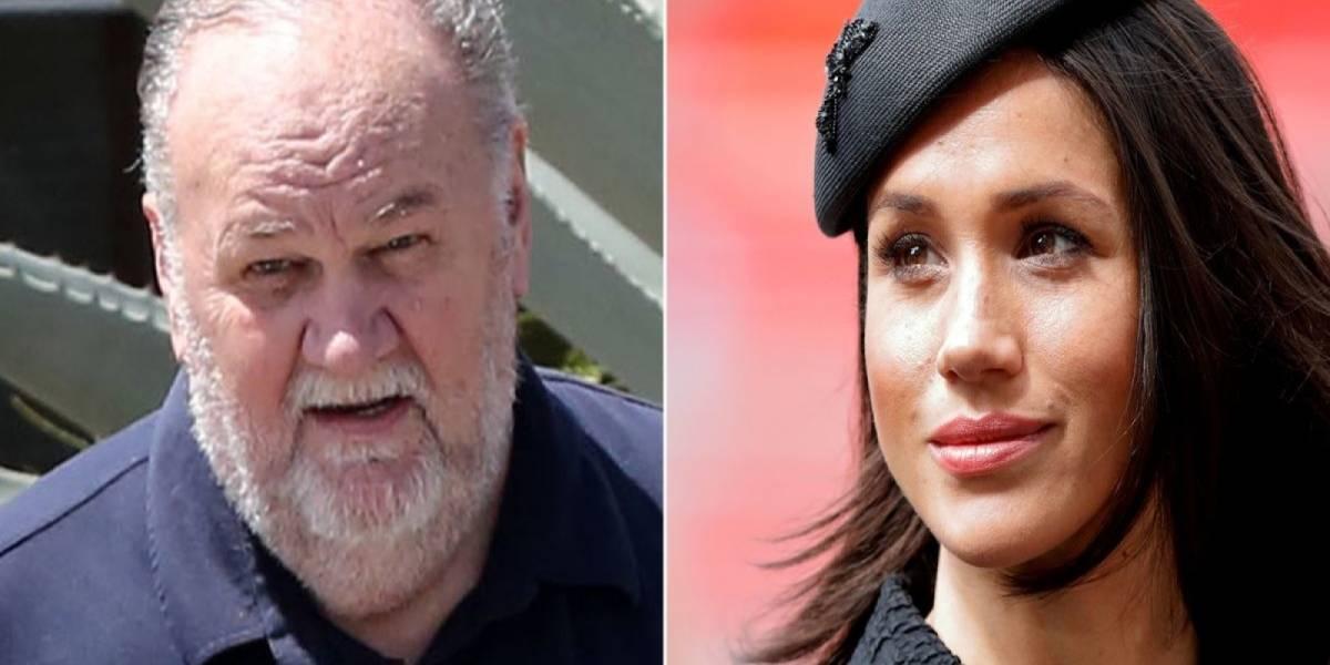 Padre de Meghan Markle acusa que está siendo tratado con desprecio por la familia real