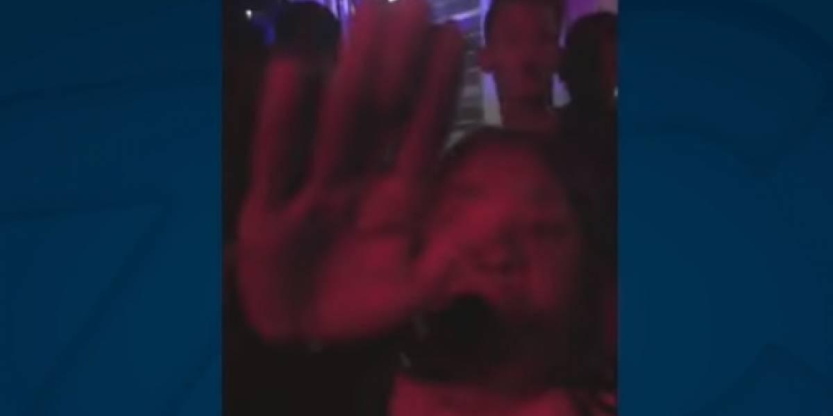 En video: Inspectora de policía se rebeló contra las autoridades en aparente estado embriaguez
