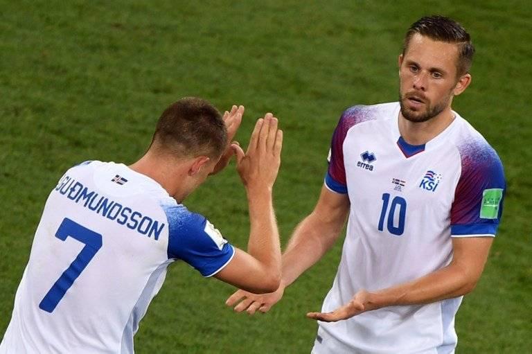 Johann Gudmundsson empató parcialmente para Islandia