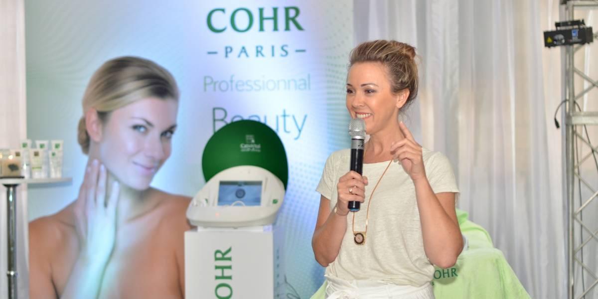Cosmetóloga de Mary Cohr imparte taller sobre las innovaciones para el cuidado del rostro