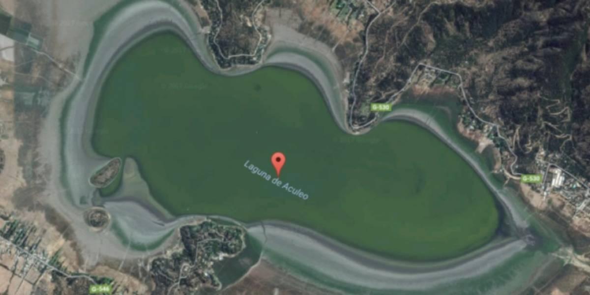 El dramático time lapse satelital que muestra cómo se secó la Laguna de Aculeo