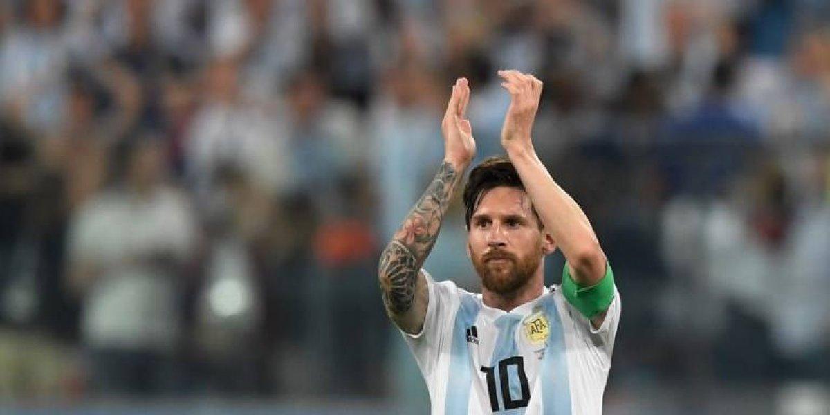 Messi logra su gol 65 con la albiceleste