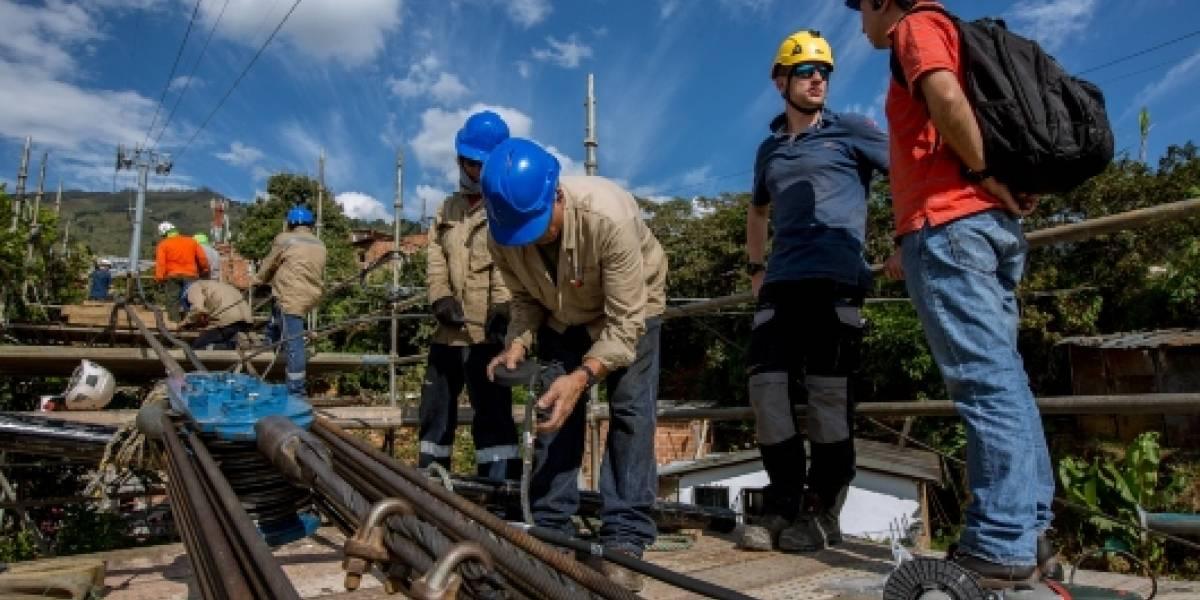 Metrocables de Medellín entrarán en trabajos de mantenimiento