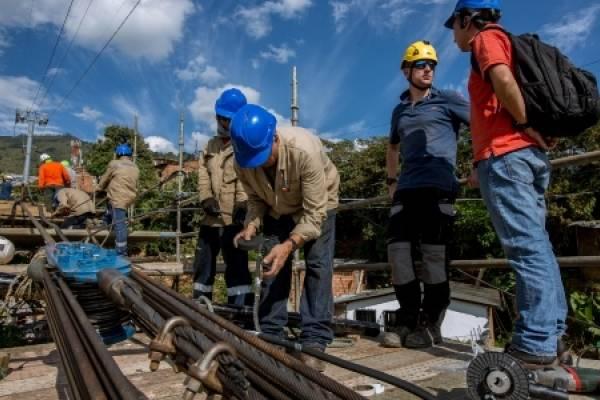 Mantenimiento Metrocables Medellín