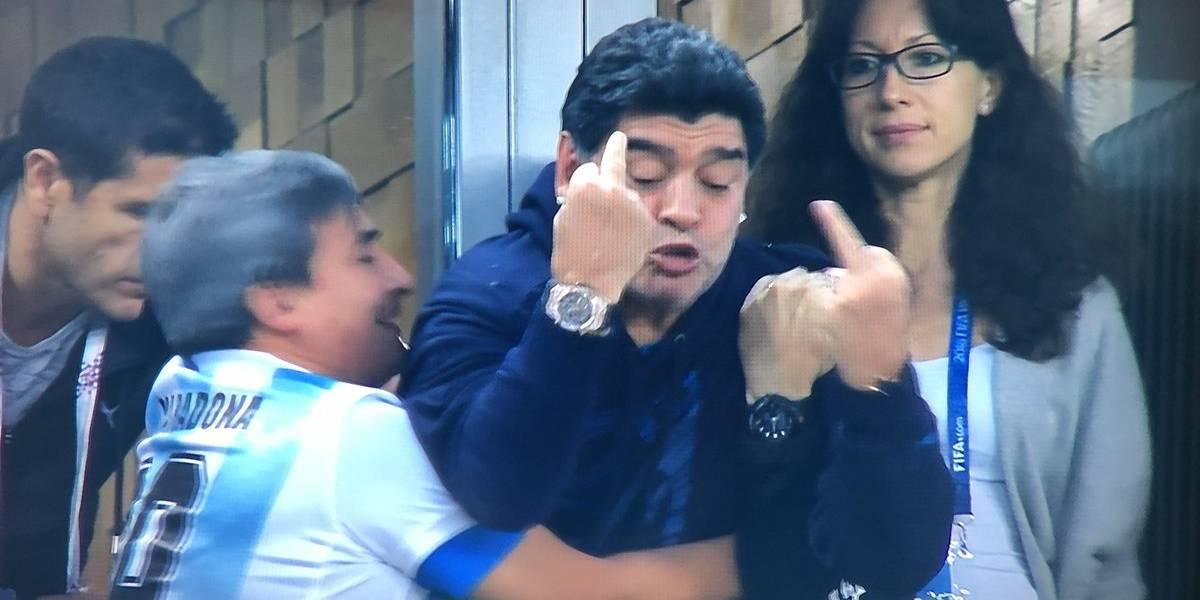 Audio desmiente muerte de Diego Maradona en Rusia 2018