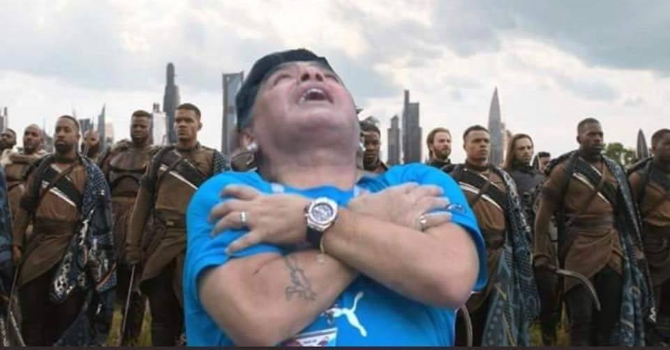 Maradona es operado y tras operación de hernia abdominal Internet
