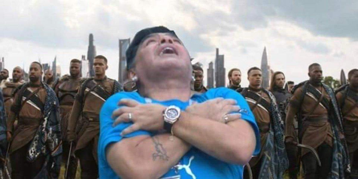 Maradona es operado tras hernia abdominal