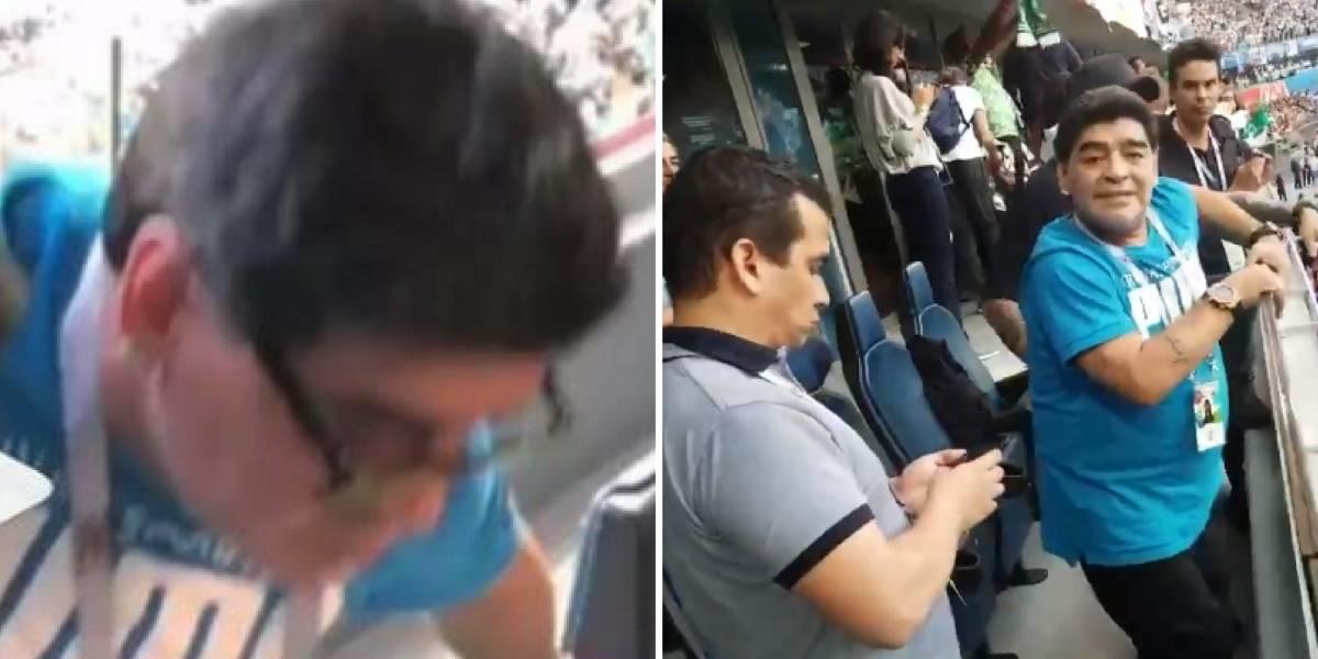 Maradona contra fake news:  R$ 42 mil pelo nome do responsável pelo boato que estaria morto