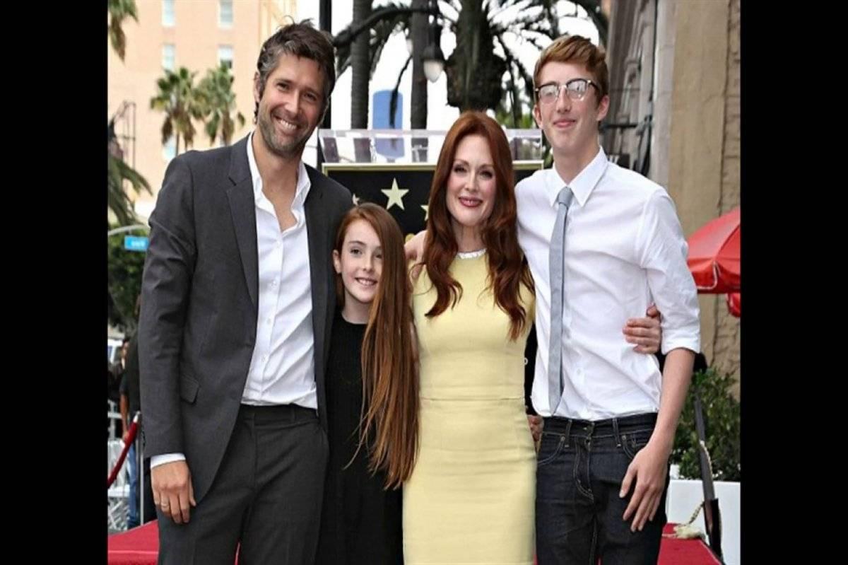Julianne Moore familia