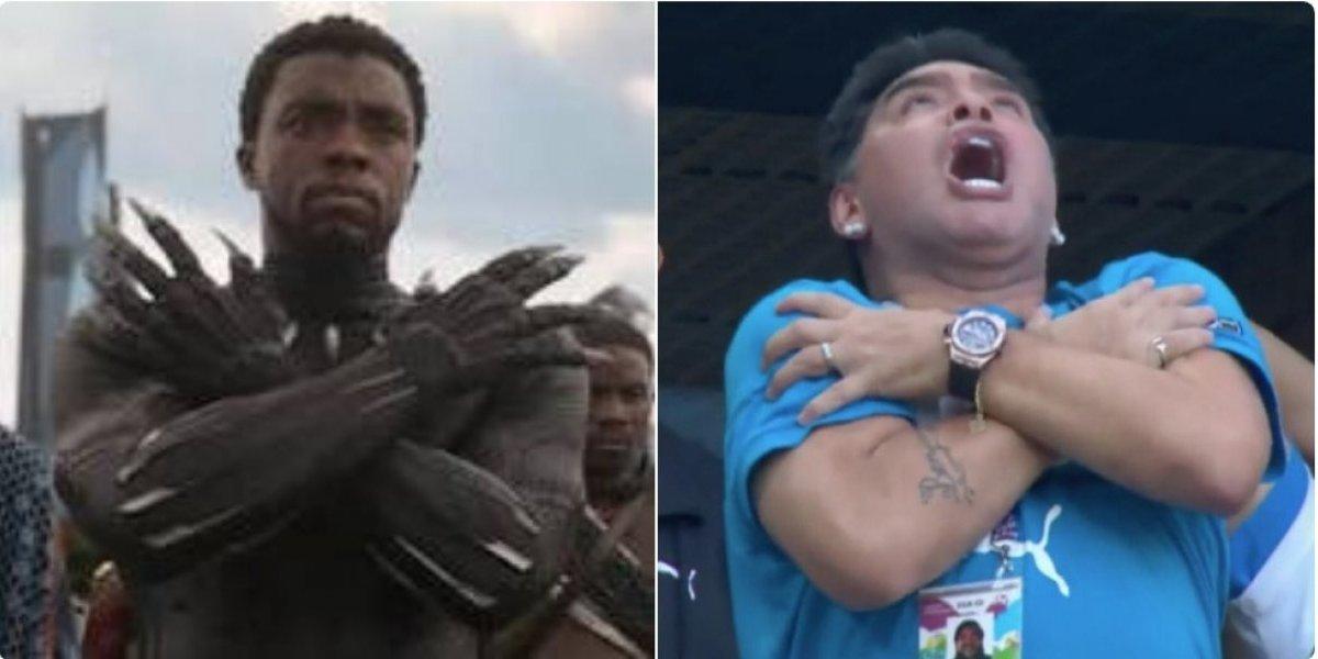 Maradona se adueña de los memes del partido Nigeria vs. Argentina