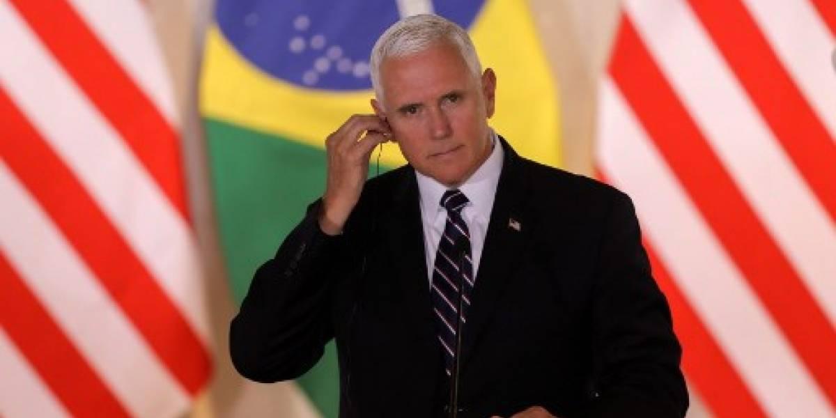 Mike Pence hablará sobre inmigración con los presidentes del Triángulo Norte