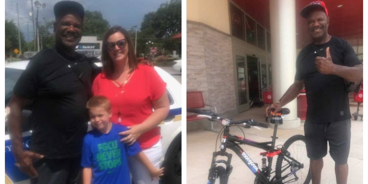 Niño de 7 años usó las gift cards que le habían regalado en su cumpleaños para comprarle una bicicleta a un extraño luego de ver como se la robaban