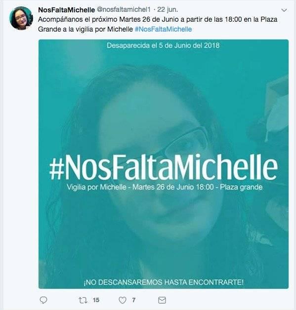 Nos falta Michelle