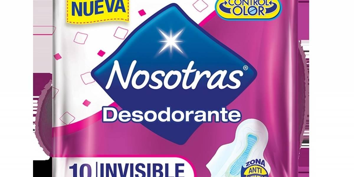 Presentan nuevas toallas Nosotras Desodorante