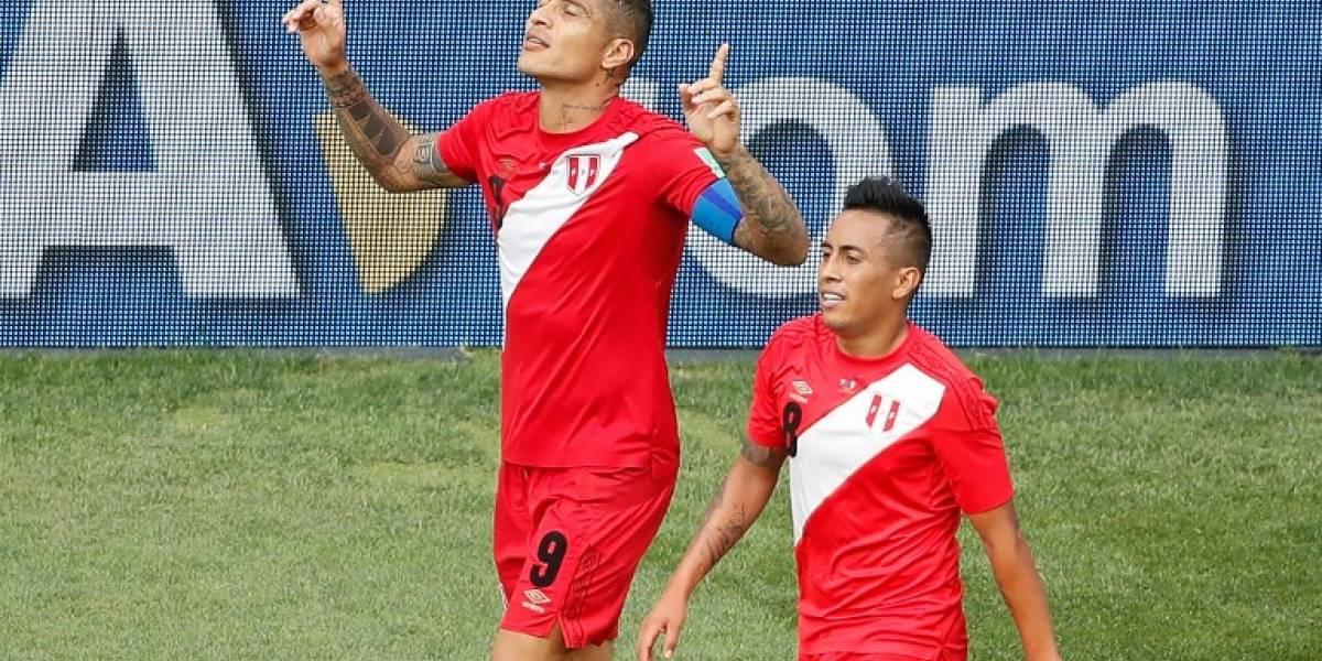 """Apareció el """"Guerrero"""" y Perú se va del Mundial con un resultado digno"""