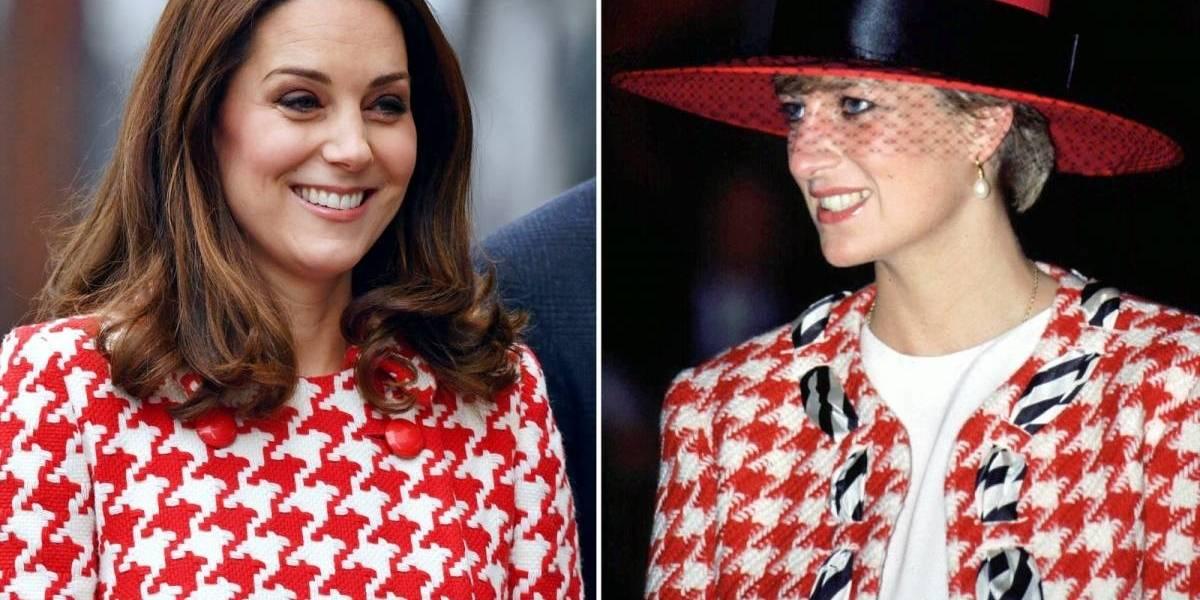 Estes são os momentos em que Kate Middleton revive o estilo de Diana