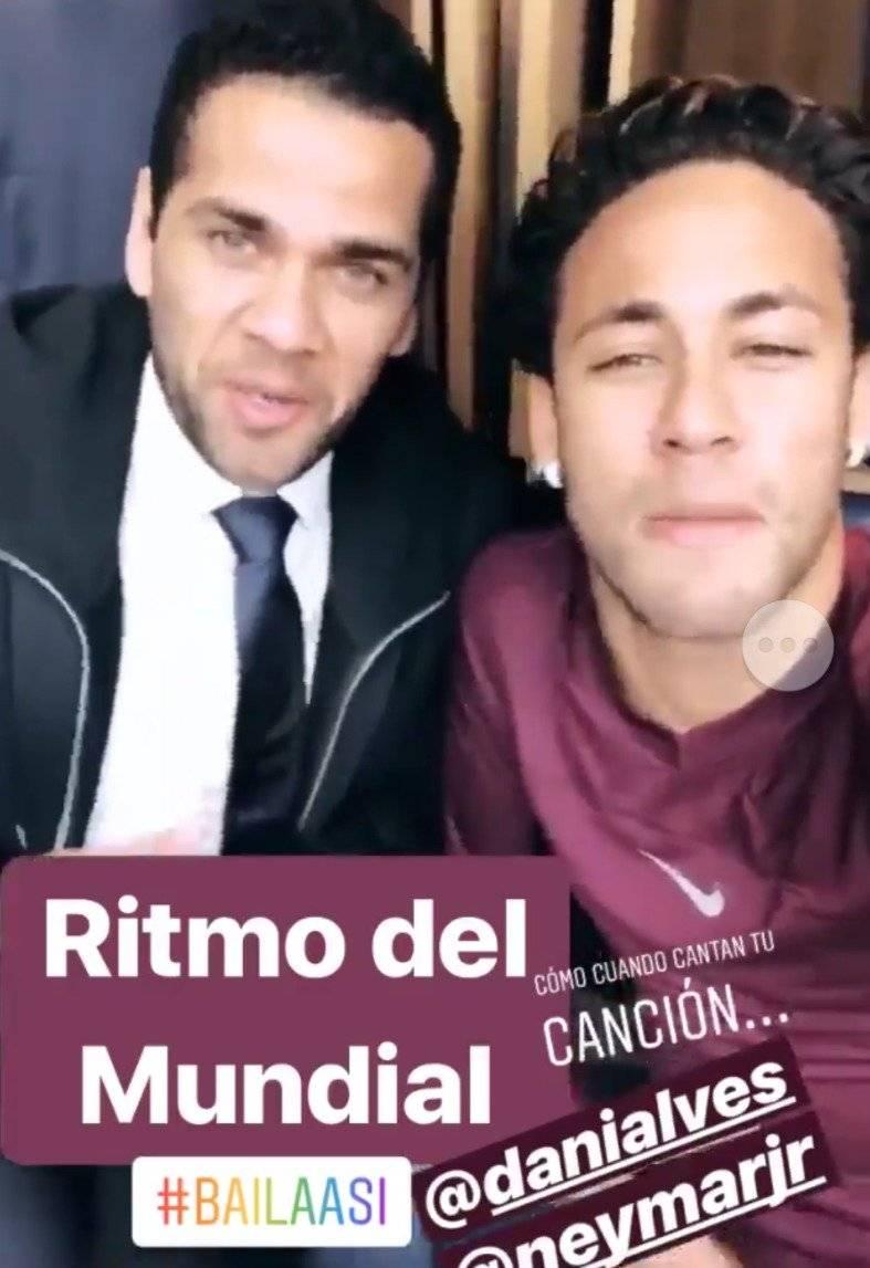 Neymar y Dani.