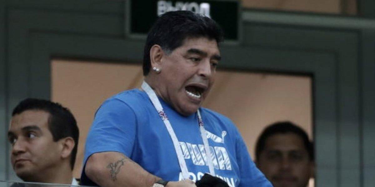Maradona no se queda callado y explota contra Ramos