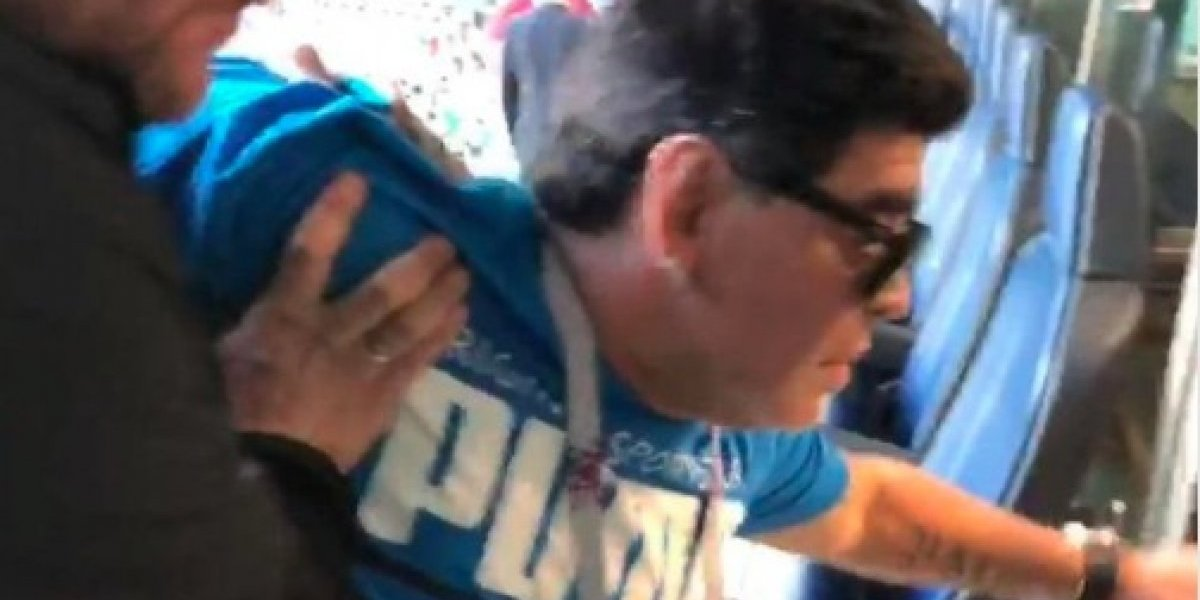 Hospitalizan a Maradona después del partido de Argentina