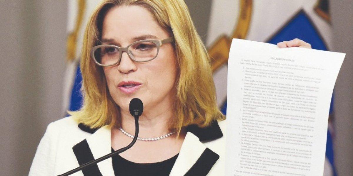 Carmen Yulín dice está dando la pelea por dinero del BGF