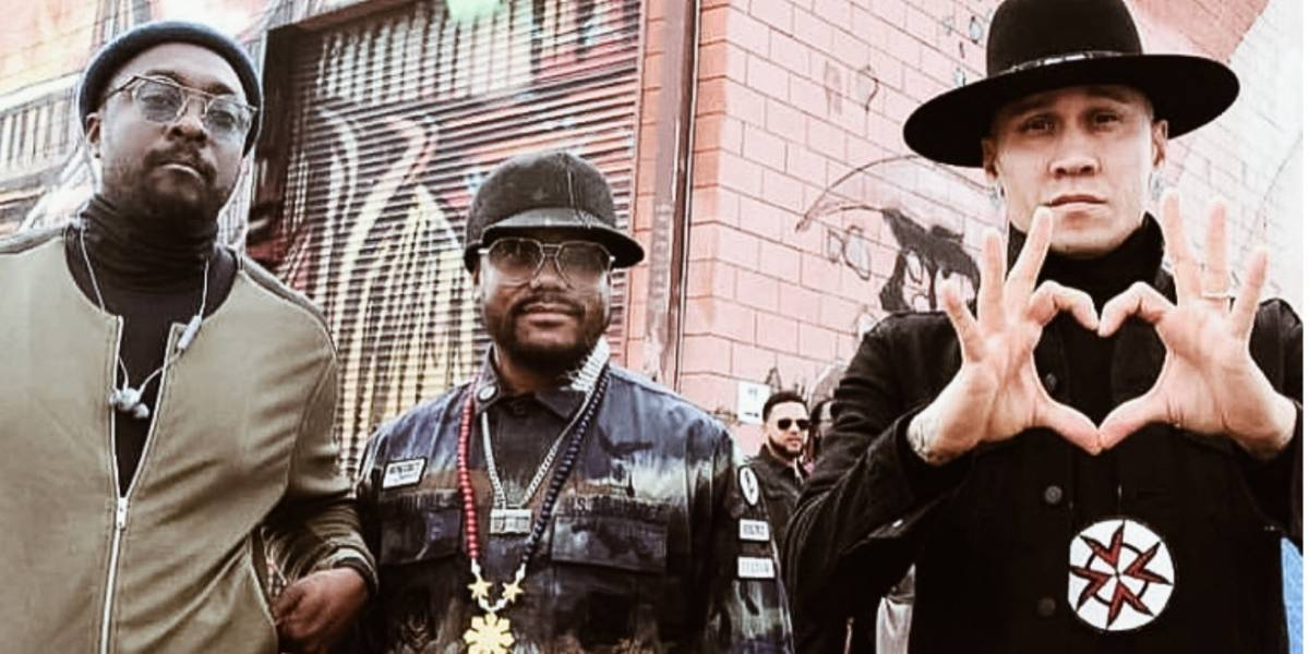 Regresa a México Black Eyed Peas