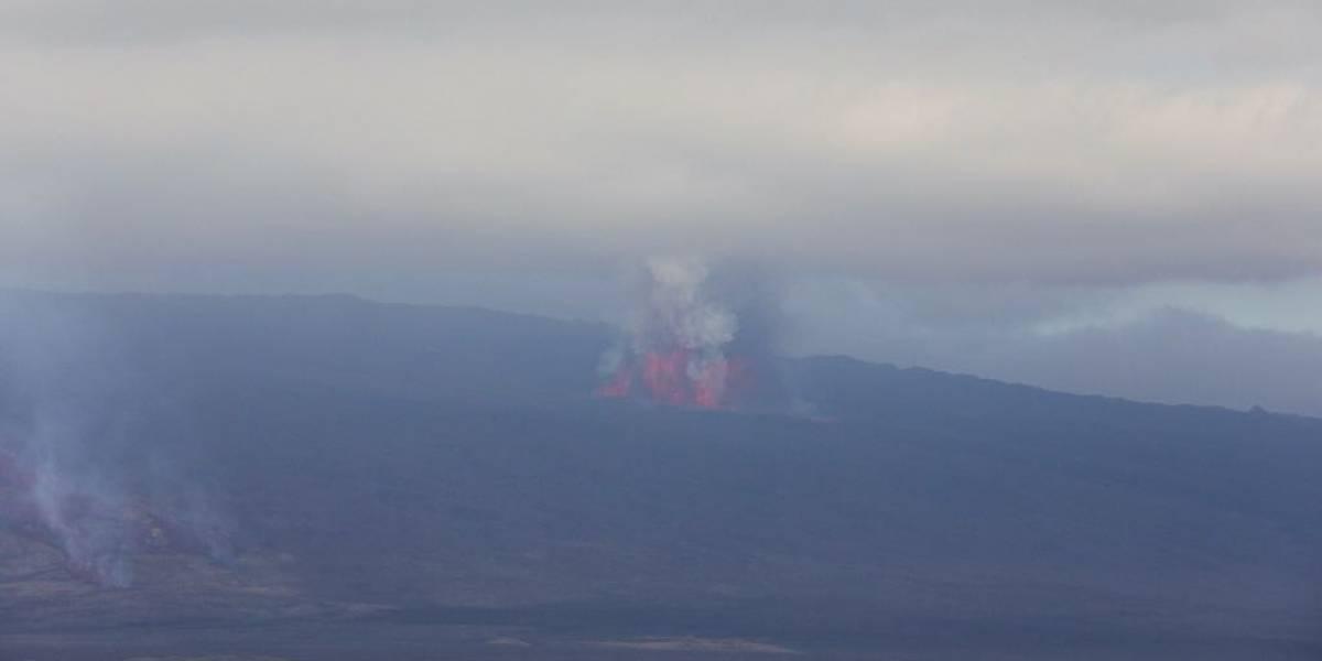 Volcán Sierra Negra, en Galápagos entra en fase eruptiva