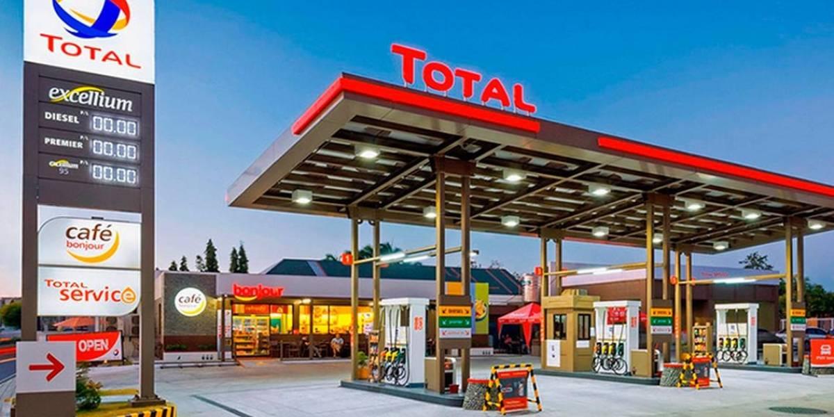 La francesa TOTAL busca socios gasolineros