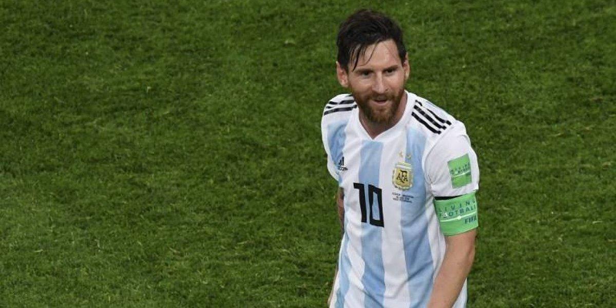 Messi reveló detalles del amuleto que le ayudó en el último partido de Argentina