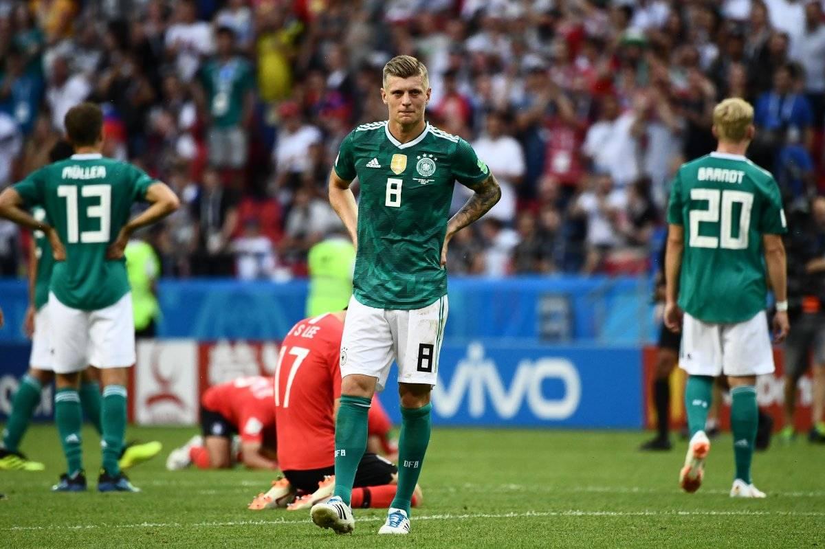 Toni Kroos lamentó la eliminación