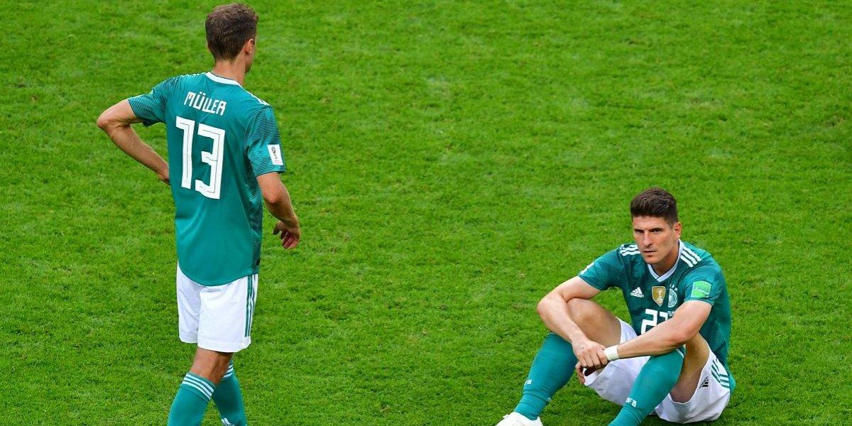 Alemania se une a lista de la maldición de los campeones