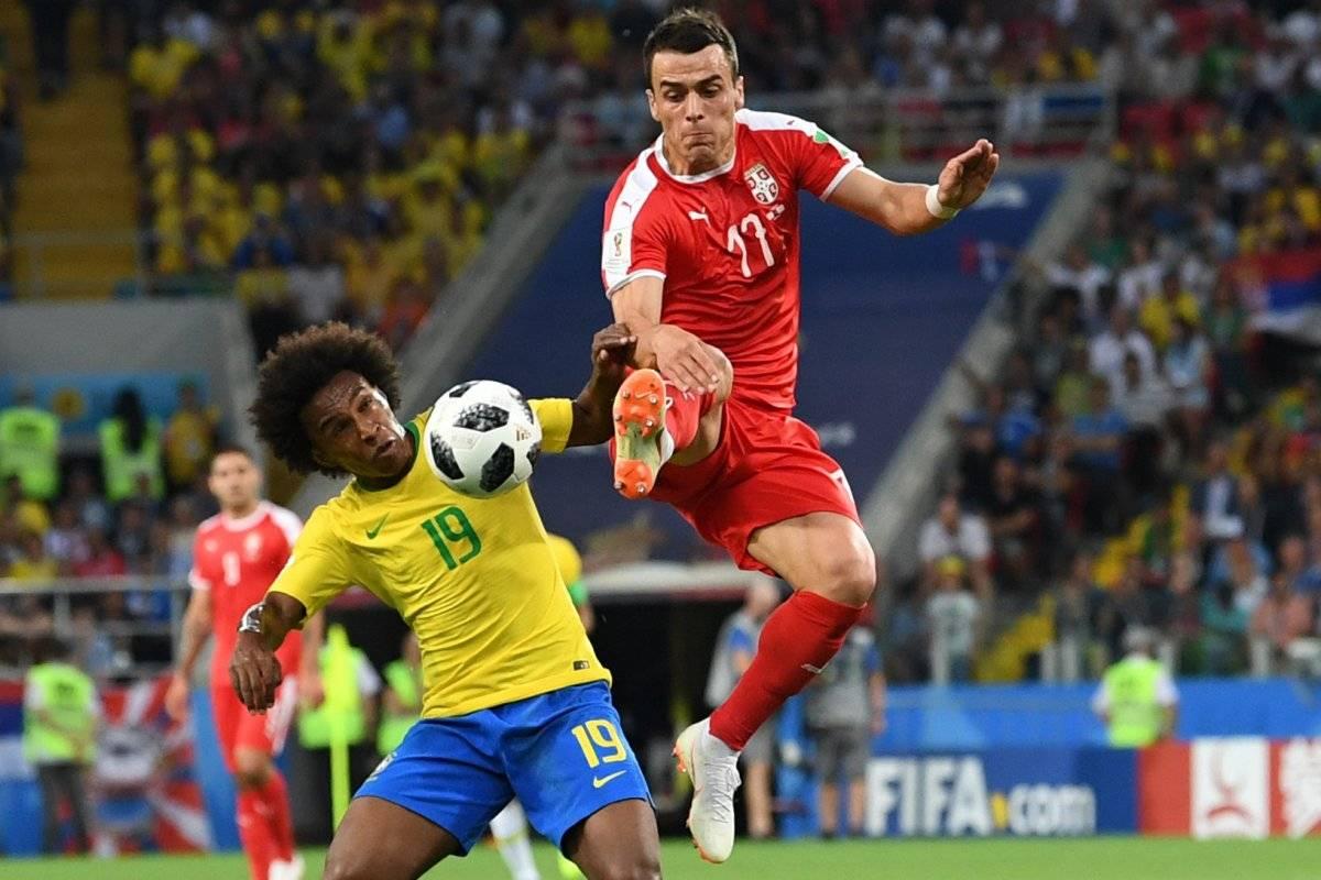 Serbia no pudo frenar la contundencia de Brasil