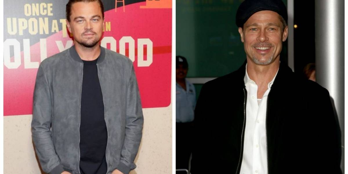 Once Upon A Time In Hollywood: Leo DiCaprio e Brad Pitt aparecem com visual retrô em foto