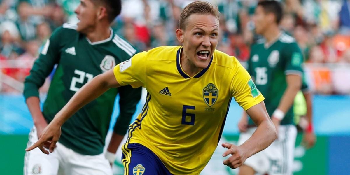 Suécia amplia contra o México; acompanhe