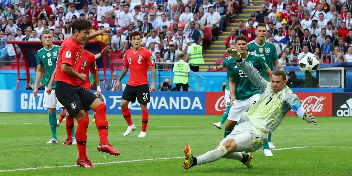 Atual campeã, Alemanha perde para a Coreia do Sul e cai na primeira fase da Copa