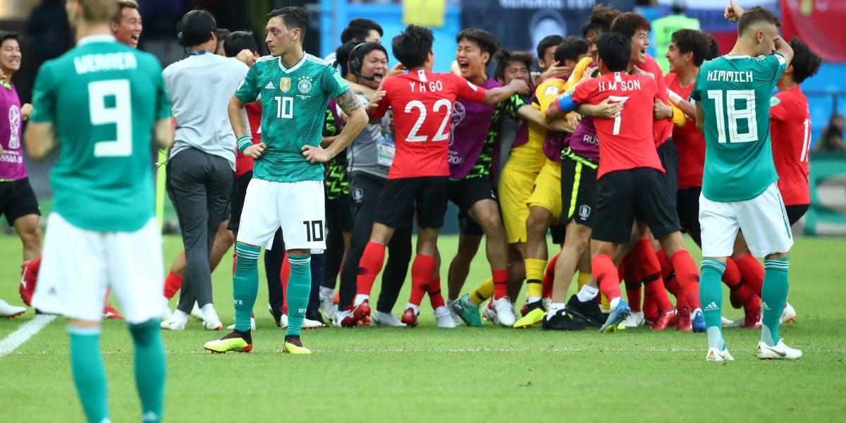 FOTOS: Veja as caretas dos alemães diante da derrota para a Coreia do Sul