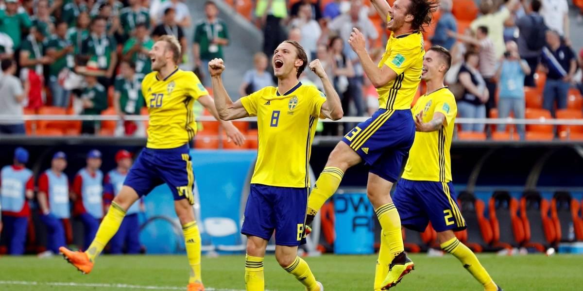 Com eliminação da Alemanha, jogo da Suécia contra México leva internet à loucura