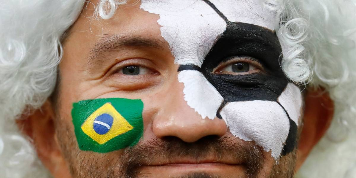 Na torcida pelo Brasil? Vejo os cuidados para usar tintas