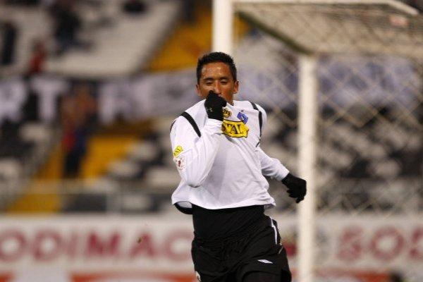 La Pantera vuelve a encantar a los hinchas de Colo Colo / imagen: Photosport