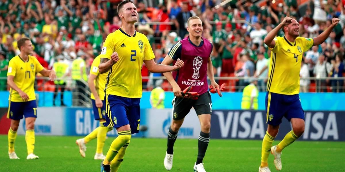 México vs Suecia: Los suecos golearon y se metieron a octavos del Mundial Rusia 2018