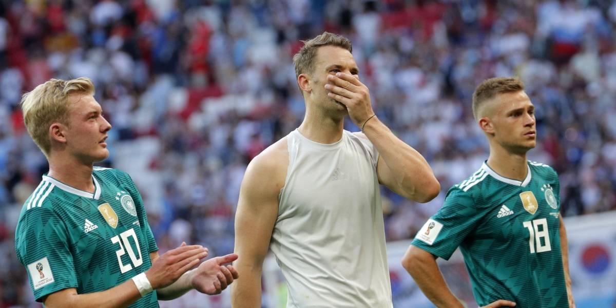 Alemania vs Corea del Sur: El Campeón Mundial fuera de Rusia tras perder 2-0