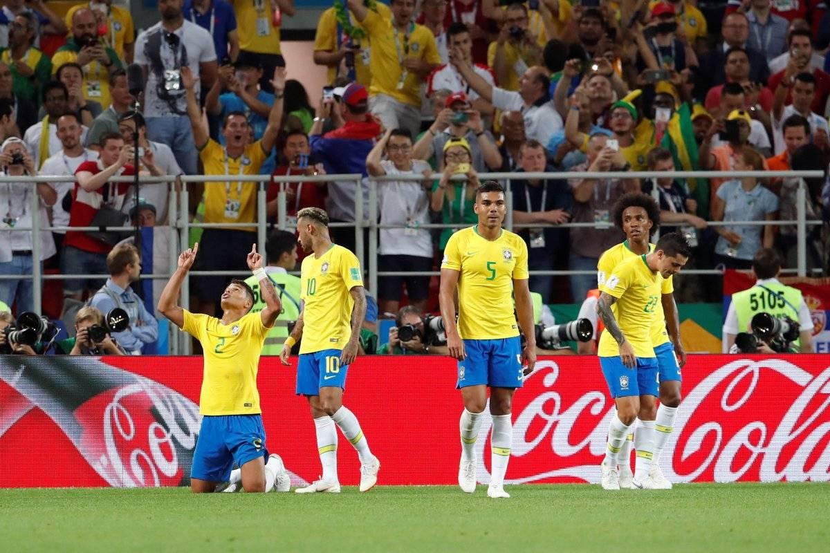 Mundial Rusia 2018: Brasil se clasificó a los octavos de final EFE