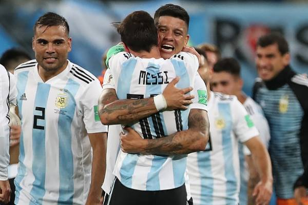Rojo con Messi hicieron pasar a Alemania