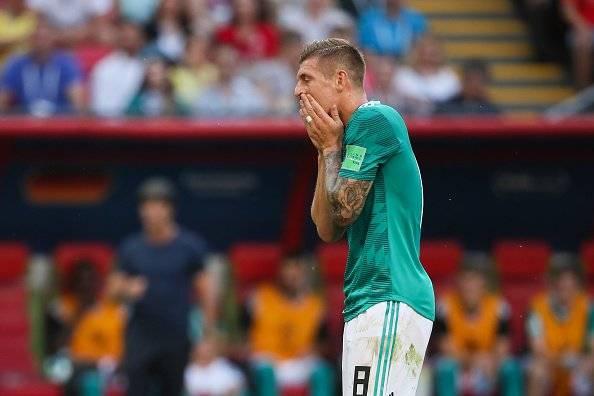 Toni Kroos y su declaración tras eliminación de Alemania del Mundial Rusia 2018 EFE