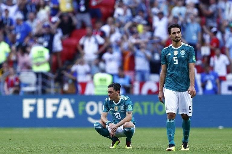 La consternación de Özil y Hummels tras la eliminación alemana