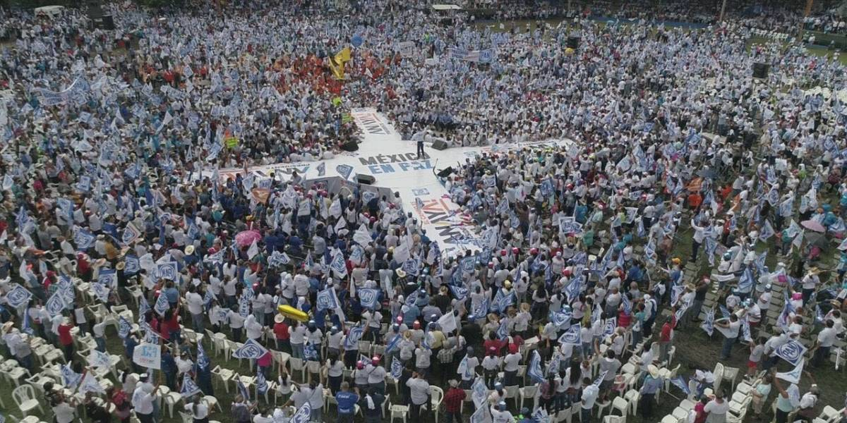 Anaya cierra campaña en Ciudad Victoria ante 30 mil  personas