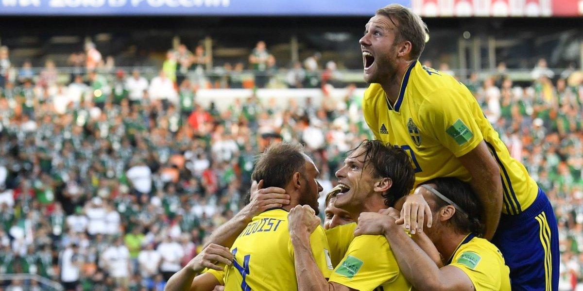 Suecia sorprendió al mundo, goleó a México y de rebote eliminó a Alemania de Rusia 2018